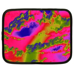 Sky pattern Netbook Case (Large)