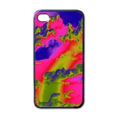 Sky pattern Apple iPhone 4 Case (Black)