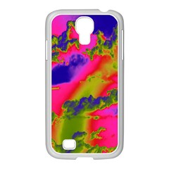 Sky pattern Samsung GALAXY S4 I9500/ I9505 Case (White)