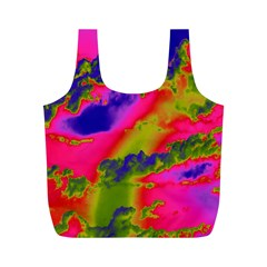 Sky pattern Full Print Recycle Bags (M)