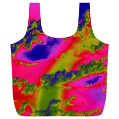 Sky pattern Full Print Recycle Bags (L)