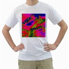 Sky pattern Men s T-Shirt (White)