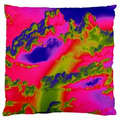 Sky pattern Large Flano Cushion Case (Two Sides)