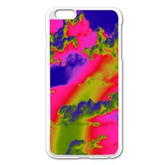Sky pattern Apple iPhone 6 Plus/6S Plus Enamel White Case