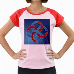 Svadebnik Symbol Slave Patterns Women s Cap Sleeve T-Shirt