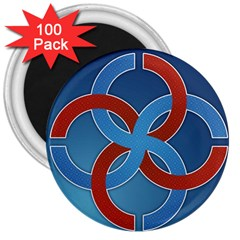 Svadebnik Symbol Slave Patterns 3  Magnets (100 pack)