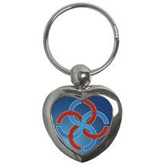 Svadebnik Symbol Slave Patterns Key Chains (heart)