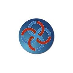 Svadebnik Symbol Slave Patterns Golf Ball Marker