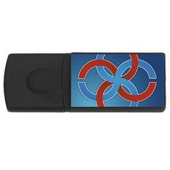 Svadebnik Symbol Slave Patterns USB Flash Drive Rectangular (2 GB)
