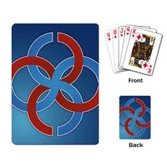 Svadebnik Symbol Slave Patterns Playing Card