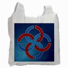 Svadebnik Symbol Slave Patterns Recycle Bag (Two Side)