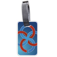 Svadebnik Symbol Slave Patterns Luggage Tags (one Side)