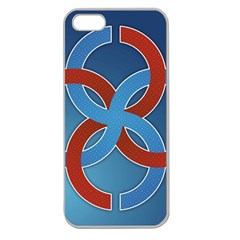 Svadebnik Symbol Slave Patterns Apple Seamless iPhone 5 Case (Clear)