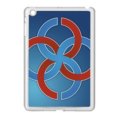 Svadebnik Symbol Slave Patterns Apple iPad Mini Case (White)