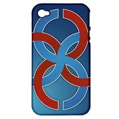 Svadebnik Symbol Slave Patterns Apple Iphone 4/4s Hardshell Case (pc+silicone)