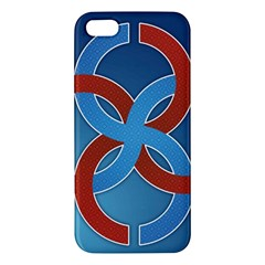 Svadebnik Symbol Slave Patterns Apple Iphone 5 Premium Hardshell Case