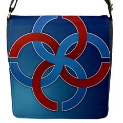 Svadebnik Symbol Slave Patterns Flap Messenger Bag (s)