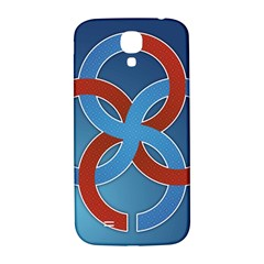 Svadebnik Symbol Slave Patterns Samsung Galaxy S4 I9500/I9505  Hardshell Back Case