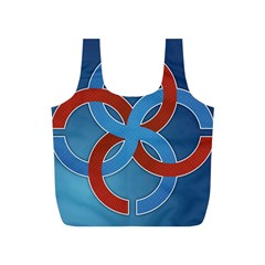 Svadebnik Symbol Slave Patterns Full Print Recycle Bags (s)
