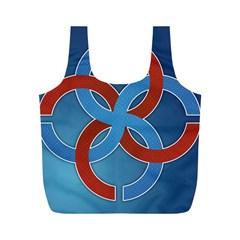 Svadebnik Symbol Slave Patterns Full Print Recycle Bags (m)