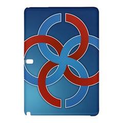 Svadebnik Symbol Slave Patterns Samsung Galaxy Tab Pro 12 2 Hardshell Case
