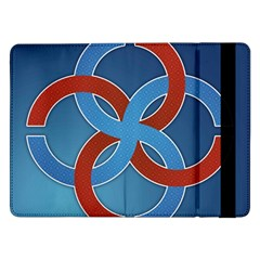 Svadebnik Symbol Slave Patterns Samsung Galaxy Tab Pro 12 2  Flip Case