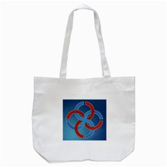 Svadebnik Symbol Slave Patterns Tote Bag (white)