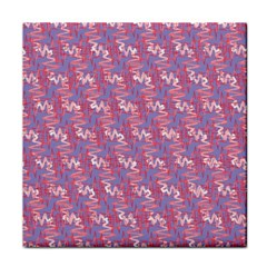Pattern Abstract Squiggles Gliftex Tile Coasters
