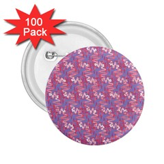 Pattern Abstract Squiggles Gliftex 2 25  Buttons (100 Pack)