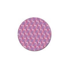 Pattern Abstract Squiggles Gliftex Golf Ball Marker