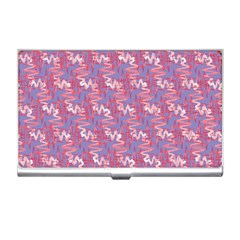 Pattern Abstract Squiggles Gliftex Business Card Holders