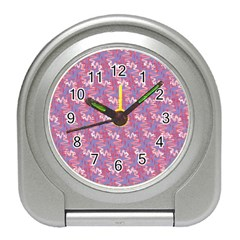 Pattern Abstract Squiggles Gliftex Travel Alarm Clocks