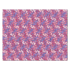 Pattern Abstract Squiggles Gliftex Rectangular Jigsaw Puzzl