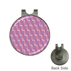 Pattern Abstract Squiggles Gliftex Hat Clips with Golf Markers