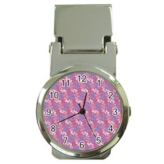 Pattern Abstract Squiggles Gliftex Money Clip Watches