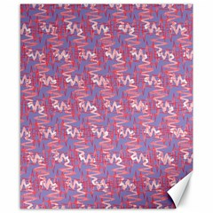 Pattern Abstract Squiggles Gliftex Canvas 8  X 10