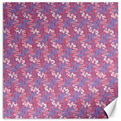 Pattern Abstract Squiggles Gliftex Canvas 16  x 16