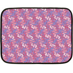 Pattern Abstract Squiggles Gliftex Fleece Blanket (Mini)