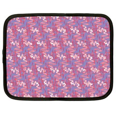 Pattern Abstract Squiggles Gliftex Netbook Case (XL)