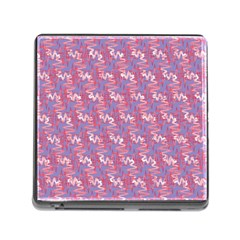 Pattern Abstract Squiggles Gliftex Memory Card Reader (Square)
