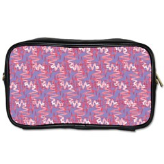 Pattern Abstract Squiggles Gliftex Toiletries Bags 2-Side