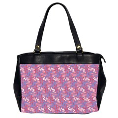 Pattern Abstract Squiggles Gliftex Office Handbags (2 Sides)