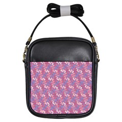 Pattern Abstract Squiggles Gliftex Girls Sling Bags