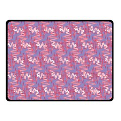 Pattern Abstract Squiggles Gliftex Fleece Blanket (Small)