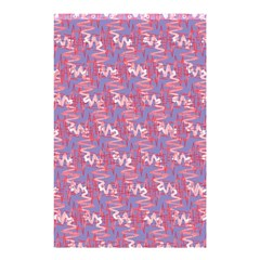 Pattern Abstract Squiggles Gliftex Shower Curtain 48  X 72  (small)