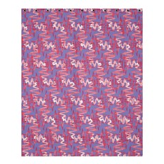 Pattern Abstract Squiggles Gliftex Shower Curtain 60  X 72  (medium)