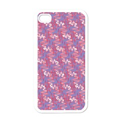 Pattern Abstract Squiggles Gliftex Apple Iphone 4 Case (white)