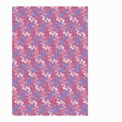 Pattern Abstract Squiggles Gliftex Small Garden Flag (Two Sides)