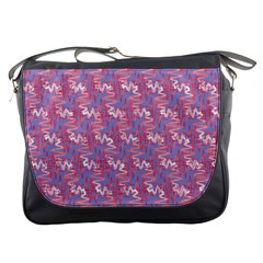 Pattern Abstract Squiggles Gliftex Messenger Bags