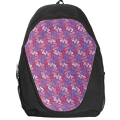 Pattern Abstract Squiggles Gliftex Backpack Bag